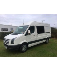 Grila inox vw crafter 2006-2012