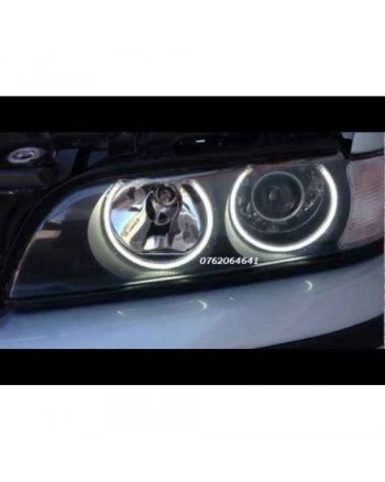 Angel Eyes BMW E46 1998 - 2004, cu neon CCFL