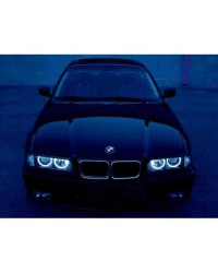 Angel Eyes BMW seria 3 E36, cu neon CCFL