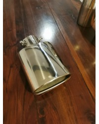 Ornament de toba oval din inox